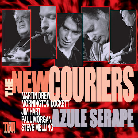 The New Couriers - Azule Seraph - with Martin Drew, Mornington Lockett, Jim Hart, Steve Melling, Paul Morgan.